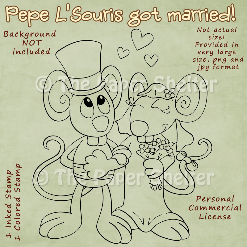 Pepe L´Souris got married!