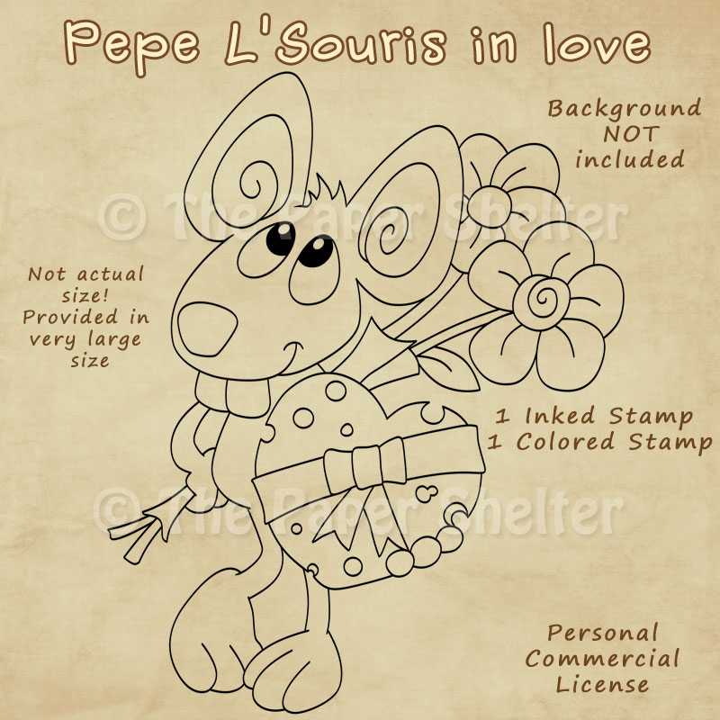 Pepe L'Souris in love