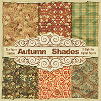 "Autumn Shades - ""Paper Pack"""