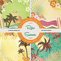 Retro Summer - Paper Pack