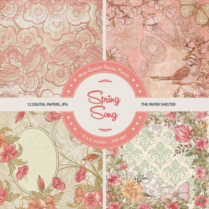 Spring Song - Paper Pack