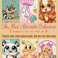 The Most Adorable Collection - 6 products for the price of 4