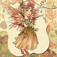 Autumn Enchantment - Digital Stamp