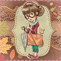 Autumn Trends - Digital Stamp