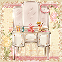 Bella Vanity Set - Digital Stamp
