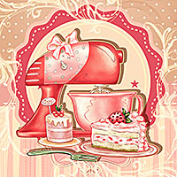 Berry Delight - Digital Stamp
