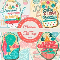 The Paper Shelter - Christmas Gift Tags