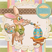 Easter Masterpiece - Digital Stamp