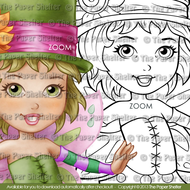 Fairy Emma - Digital Stamp