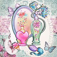 Fantasy Perfumes - Digital Stamp