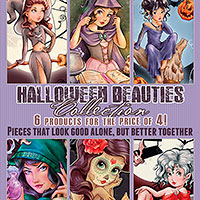 Halloween Beauties Collection - 6 products for the price of 4