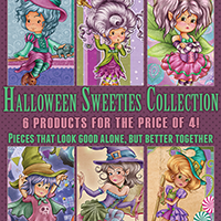 Halloween Sweeties Collection - 6 products for the price of 4
