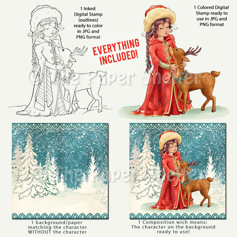 Holy Night - Digital Stamp