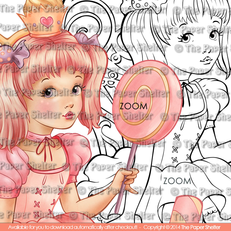 Mad About Goodies! - Digital Stamp