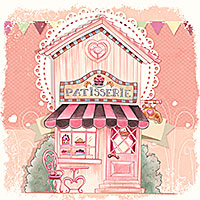 Patisserie - Digital Stamp