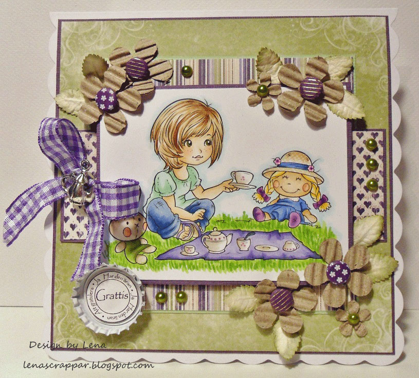 Pic-Nic with my Friends - Digital Stamp