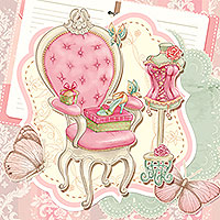 Romantique Mais Chic - Digital Stamp