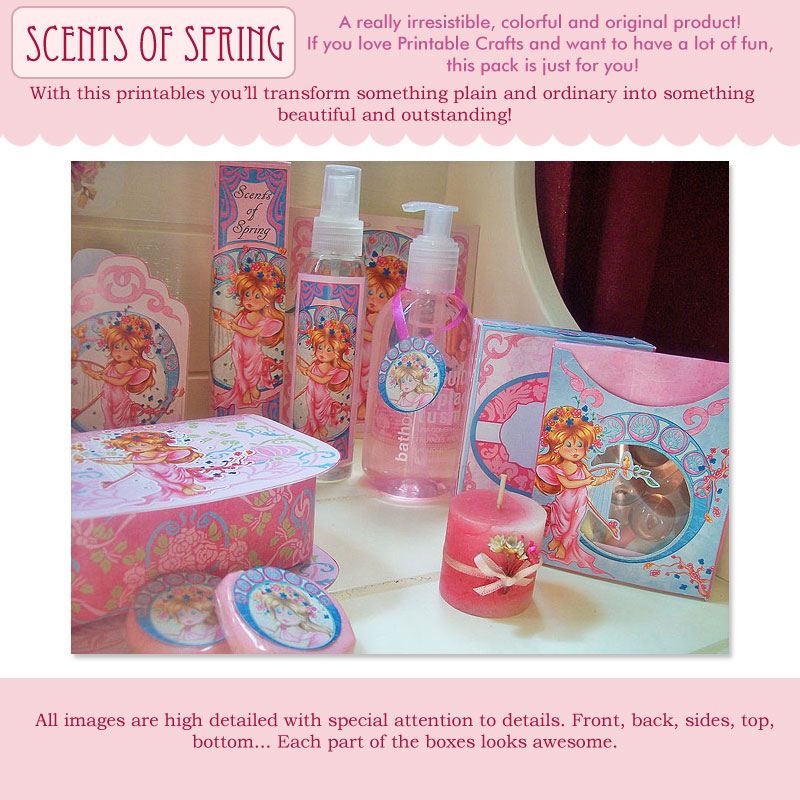 Scents of Spring - Printable Set