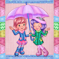 Sharing a Rainy Day
