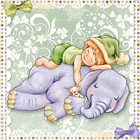 The Best Nap Ever! - Digital Stamp