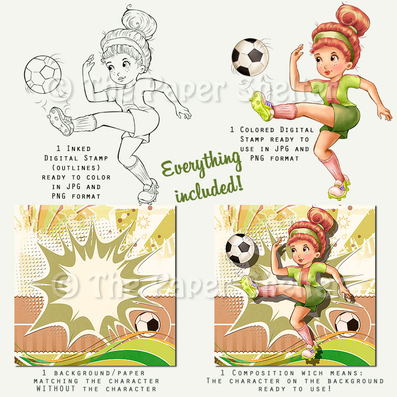 The Best Soccer Player - Digital Stamp