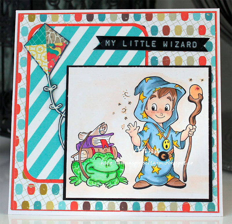 The Cutest Wizard - Digital Stamp