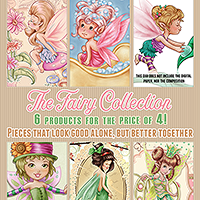 The Fairies Collection- 6 products for the price of 4