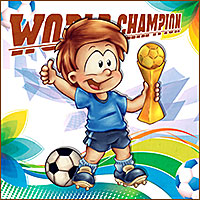 World Champion - Digital Stamp
