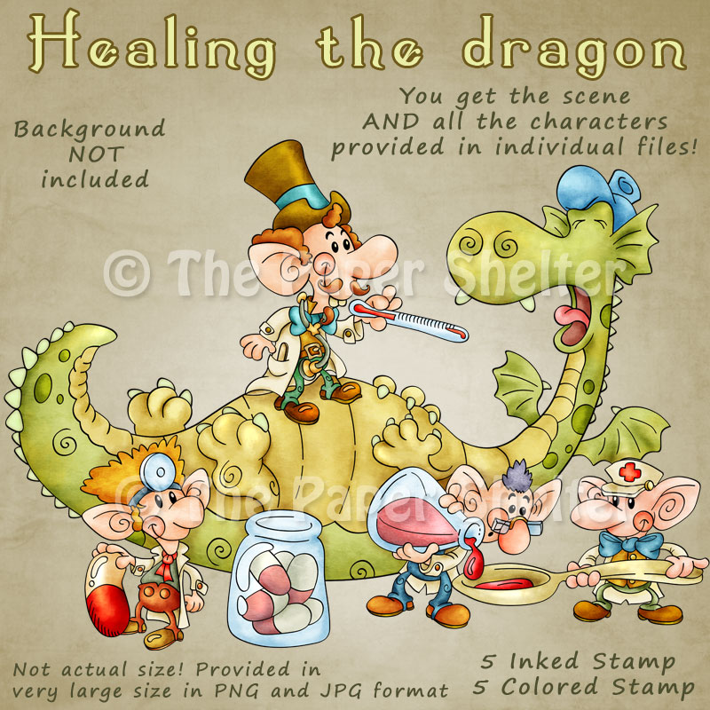 Healing the Dragon - Click Image to Close