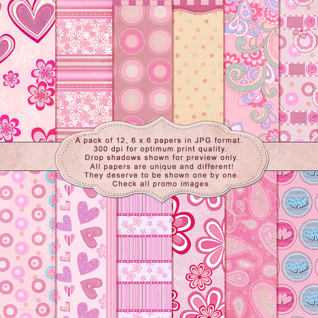 "So Girly - ""Paper Pack"""