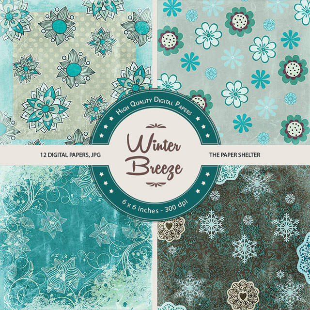 Winter Breeze - Paper PAck