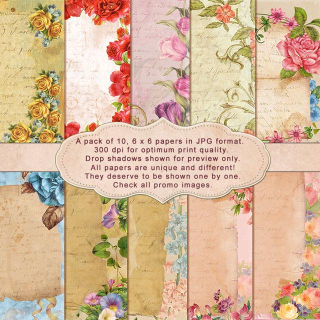 Love & Letter - Paper Pack