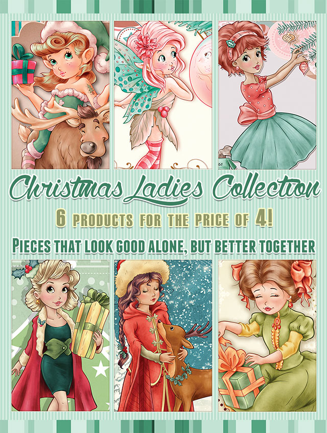 The Christmas Ladies Collection - 6 products for the price of 4