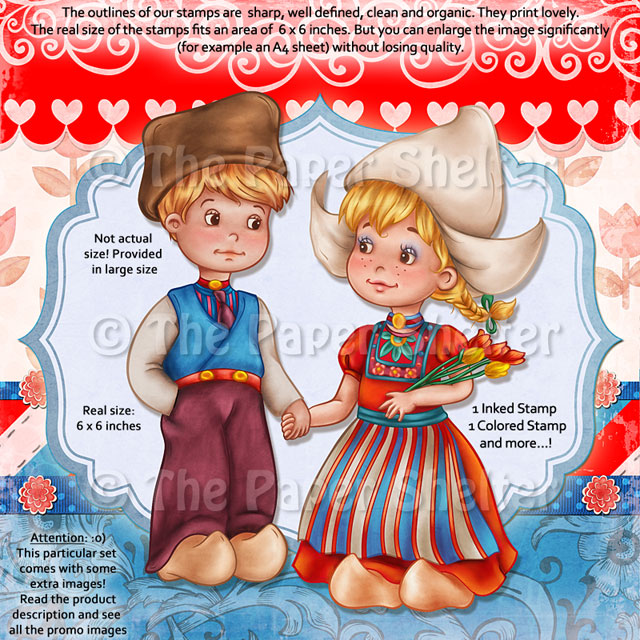 Dutch Pure Love - Digital Stamp