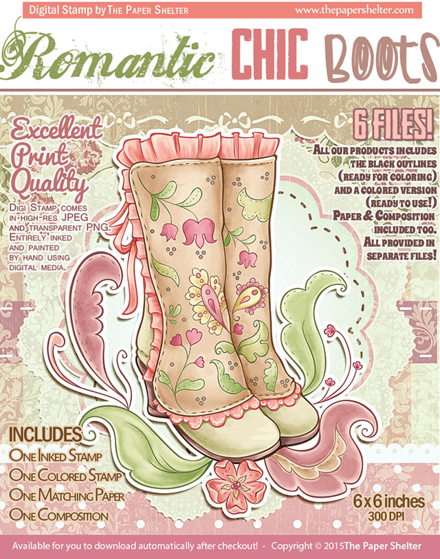 Romantic Chic Boots