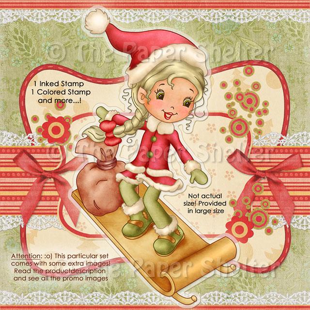 Santa Cute Helper