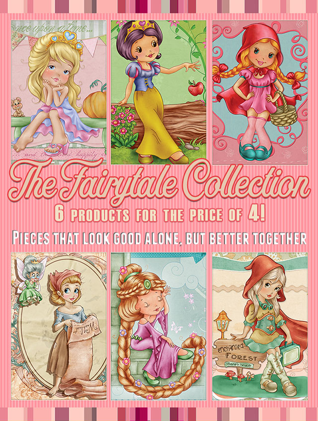 The Faity tale Collection - 6 products for the price of 4