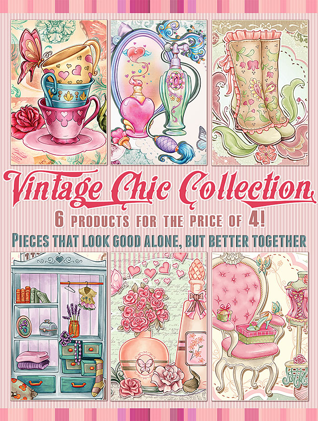 The Vintage Chic Collection - 6 products for the price of 4